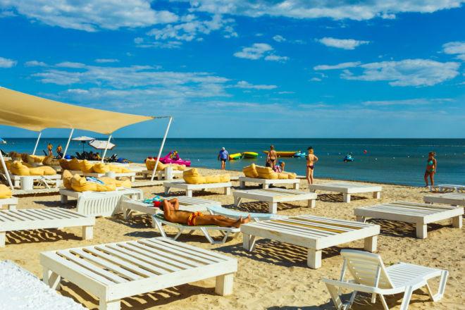 пляж Гостевой дом